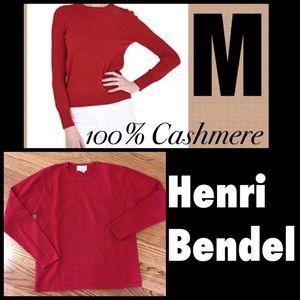 🌿100% cashmere Henri Bender Sweater
